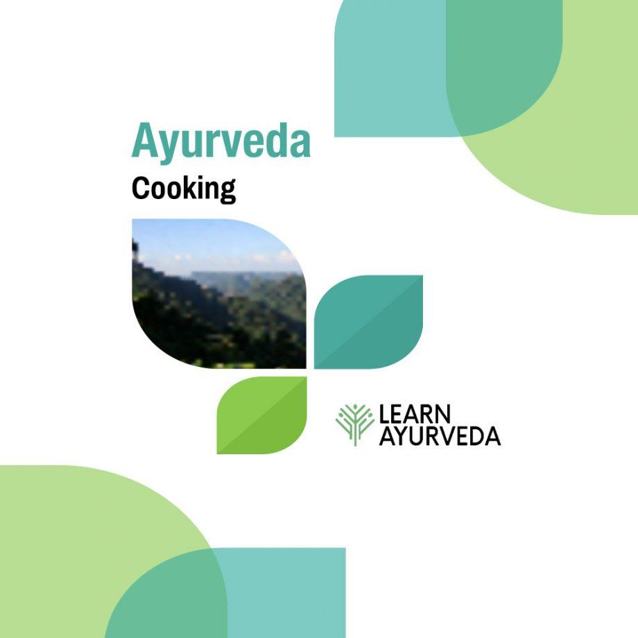 Ayurveda-Cooking
