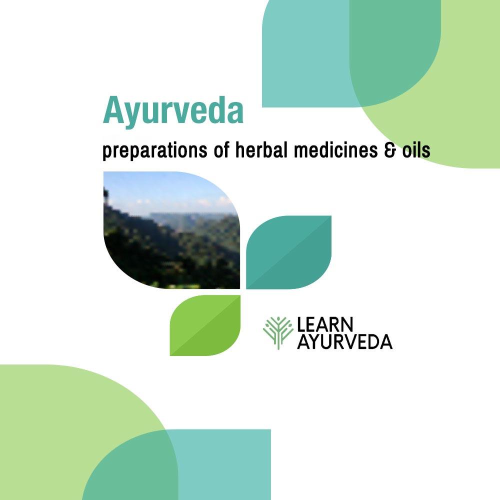 ayurveda-cooking-preparations-of-ayurvedic-herbal-medicines-oils