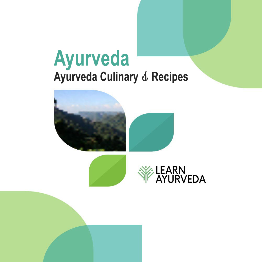 Ayurveda-Culinary-Recipes